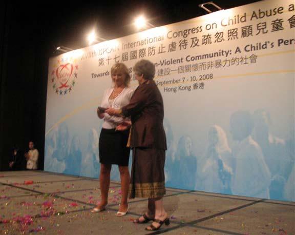 Poliklinici dodijeljeno priznanje ISPCAN-a za multidisciplinarni tim 2008.
