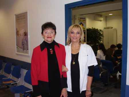 Dr. Barbara Bonner's professional visit to the Child Protection Center of Zagreb