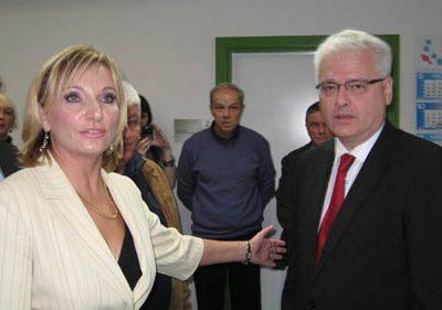 Predsjednik Josipović posjetio Polikliniku