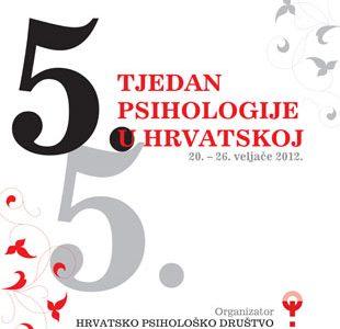 Sudjelujemo na 5. tjednu psihologije u Hrvatskoj