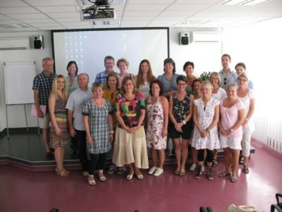 Swedish professionals visit the Center