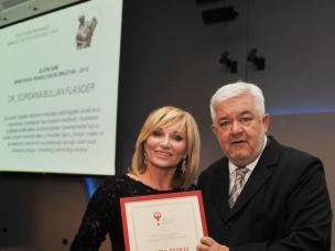 Ravnateljici uručena nagrada Zlatni grb