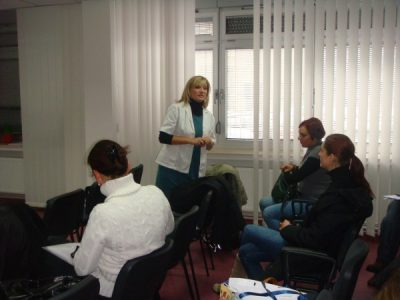 Training of psychologists working in the social welfare
