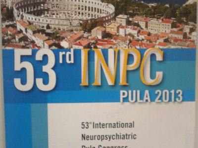 Poliklinika na 53. međunarodnom neuropsihijatrijskom kongresu u Puli