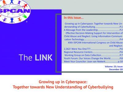 Naše istraživanje na naslovnici ISPCAN-ovog newslettera