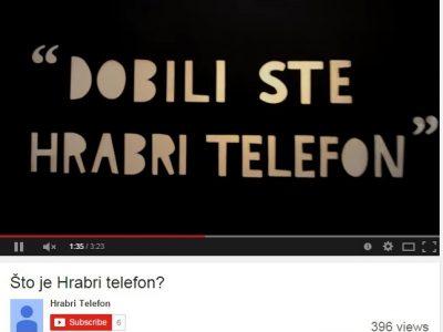 """Novi edukativni video film """"Hrabrog telefona"""""""