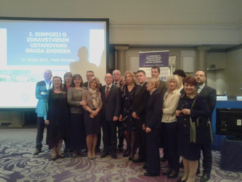 The Center presents specifities of its work on the first symposium of health institutions of the City of Zagreb