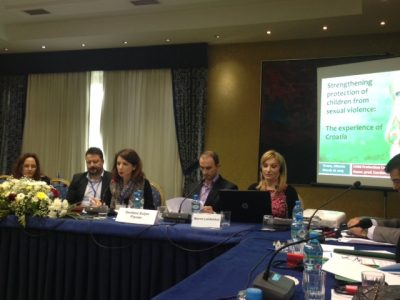 "Director of Child Protection Center invited to speak on Council of Europe Round Table ""Combatting Violence Against Children in Albania"" in Tirana"