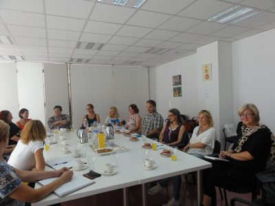 Social welfare professionals from Slovenia visit Child Protection Centre of Zagreb