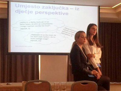 Role of the Centre in the Prevention of Mental Disorders in Children and Youth in Croatia