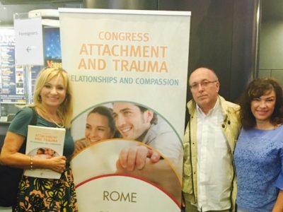 Na međunarodnoj konferenciji o traumi i privrženosti u Rimu