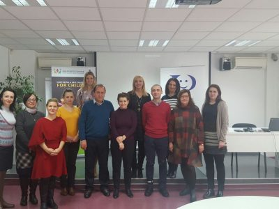Study visit to our Centre within the project Child Protection Hub for South East Europe