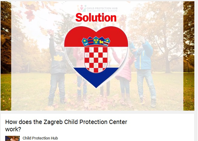 Child Protection Hub SEE published informative video about how our Centre works