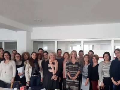 Training in the Social Welfare Centre of Split