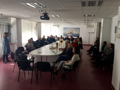 Experts from Slovenia Visited Center to Establish Future Cooperation