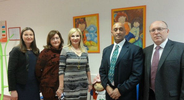 Ambassador of India Visited Child and Youth Protection Center of Zagreb