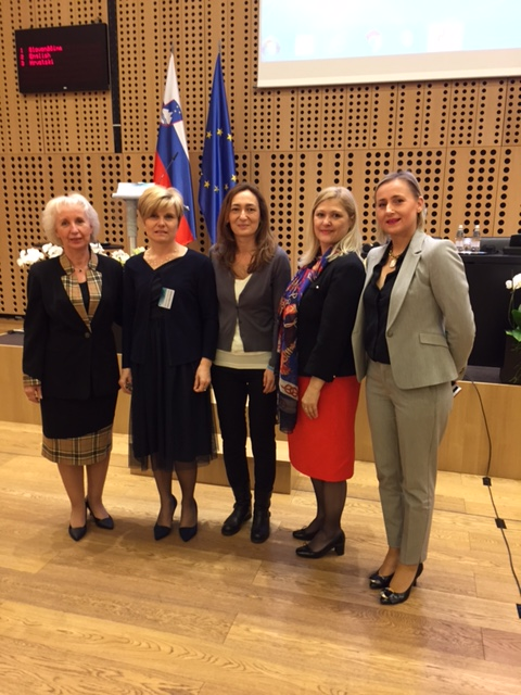 """At the Conference About Child-Friendly Justice """"In the Name of the Child"""" in Slovenia"""
