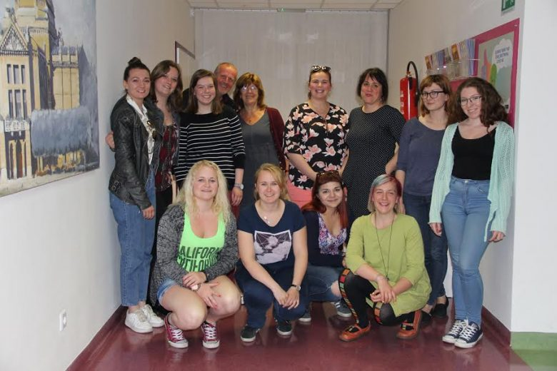 "Students and Teachers of the International Seminar ""Child Abuse"" Visit Our Centre"