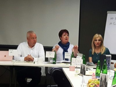 At the Meeting of European Experts on the Manipulaton of Children During Divorce in Prague