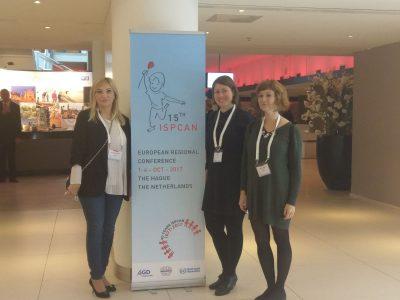 Predstavljanje rada Poliklinike i projekta PROMISE na 15. regionalnoj konferenciji Međunarodnog udruženja za prevenciju zlostavljanja i zanemarivanja djece u Haagu