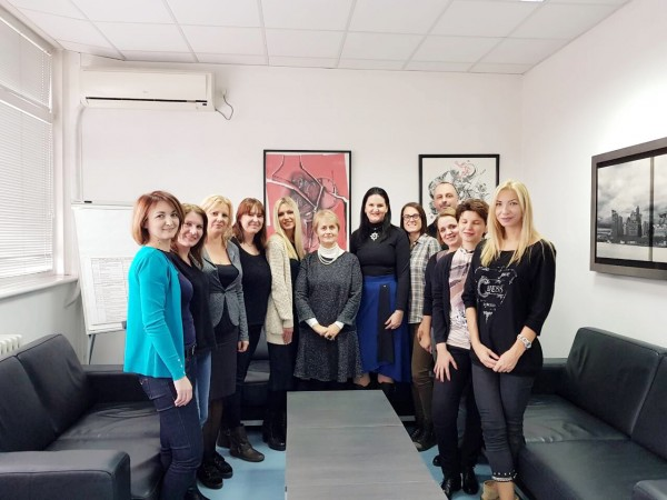 Cooperation between the Centre and the Institute for Mental Health in Belgrade through exchange and education of professionals