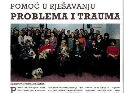 """ZAGREB MOJ GRAD: """"Pomoć u rješavanju problema i trauma"""""""