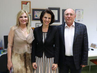 Posjet austrijske delegacije Poliklinici
