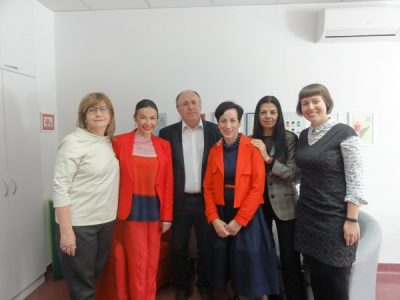 Representatives of the Greek Ministry of Justice in a study visit to our Center