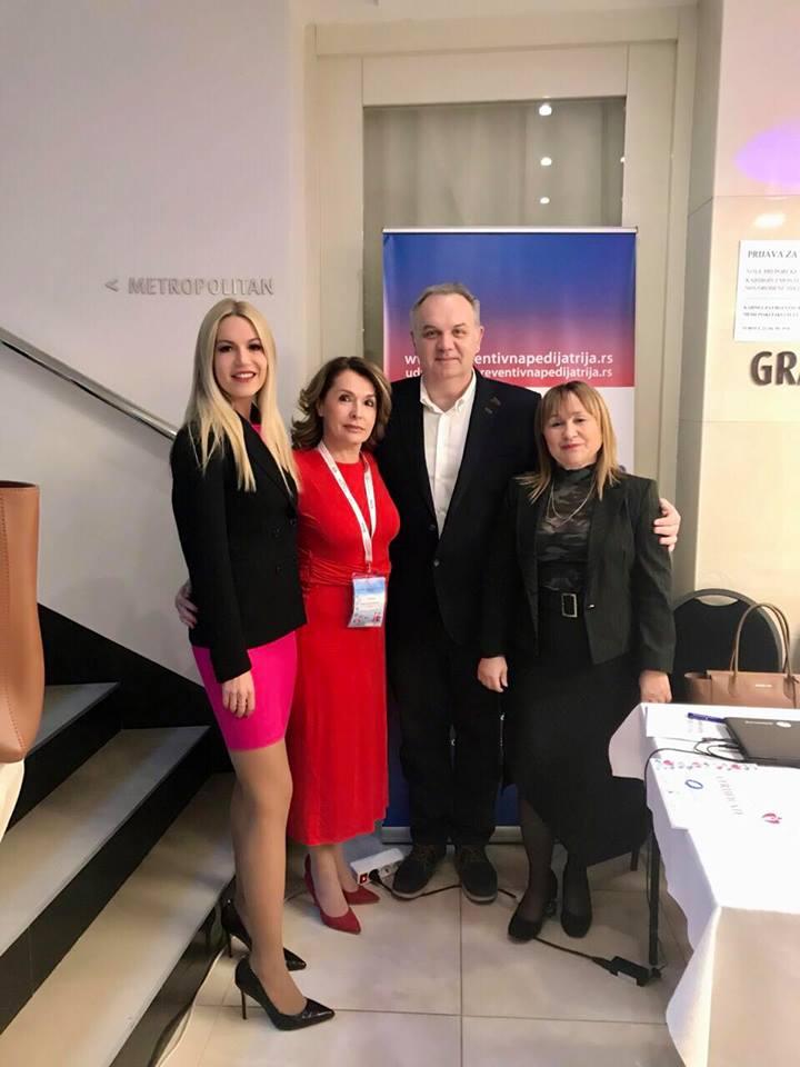 At the preventive pediatric congress in Niš