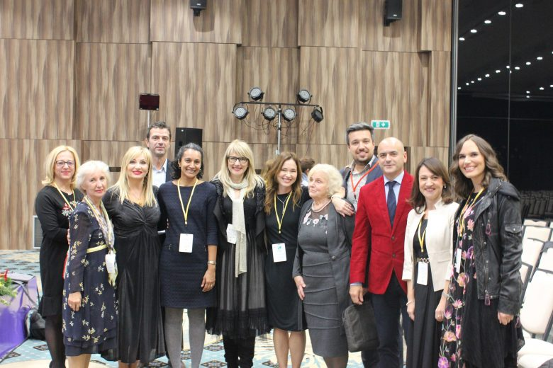 At the First International Congress of Child and Adolescent Psychotherapy in Sarajevo