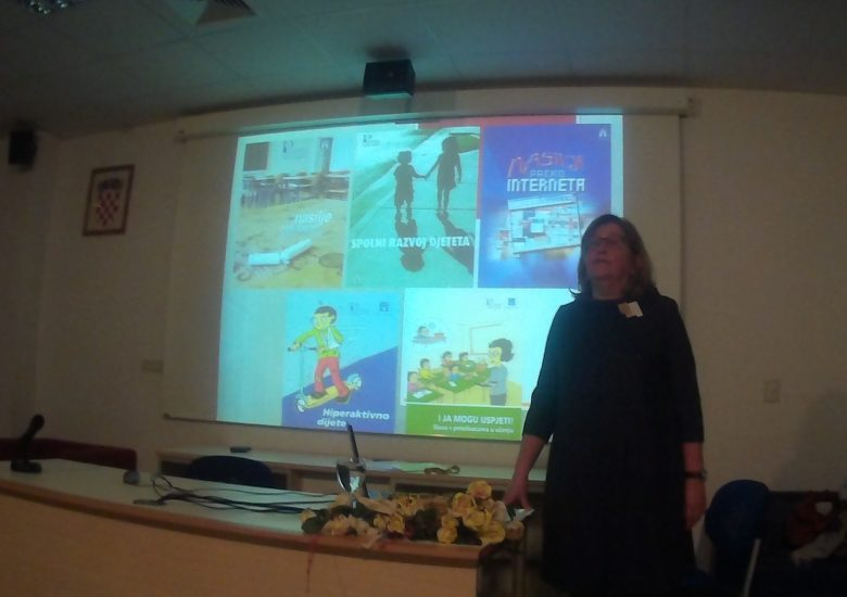 Lecture for professionals working with children in Split