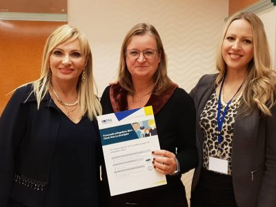 Visit by dr.sc. Astrid Podsiadlowski from the EU Fundamental Rights Agency