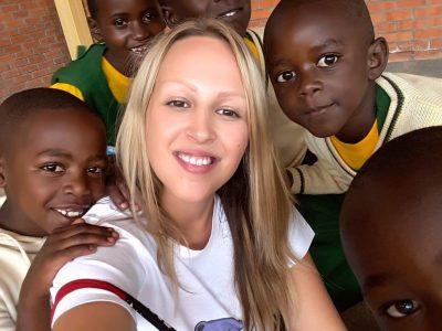 Psihologinja Poliklinike volontirala u Centru fra Vjeko u Ruandi