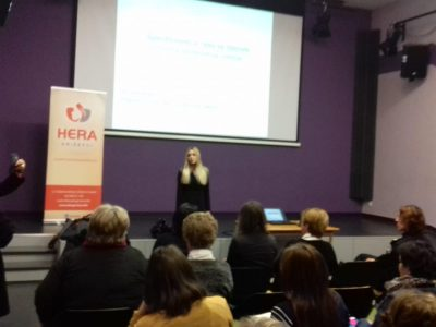 "Lecture: ""Children – Witnesses of Domestic Violence"""