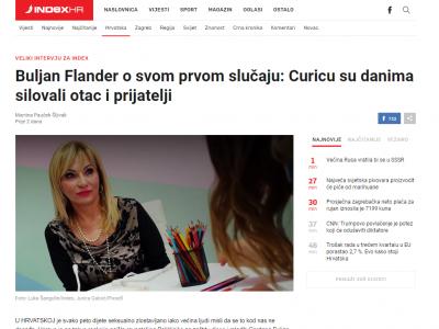 """Index.hr: """"Buljan Flander o svom prvom slučaju: Curicu su danima silovali otac i prijatelji"""""""