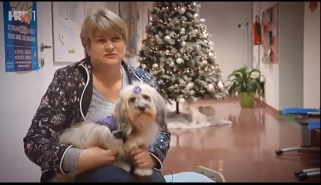 Renata Fridrih, terapijski psi