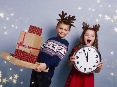 Dijete i proslava Nove godine