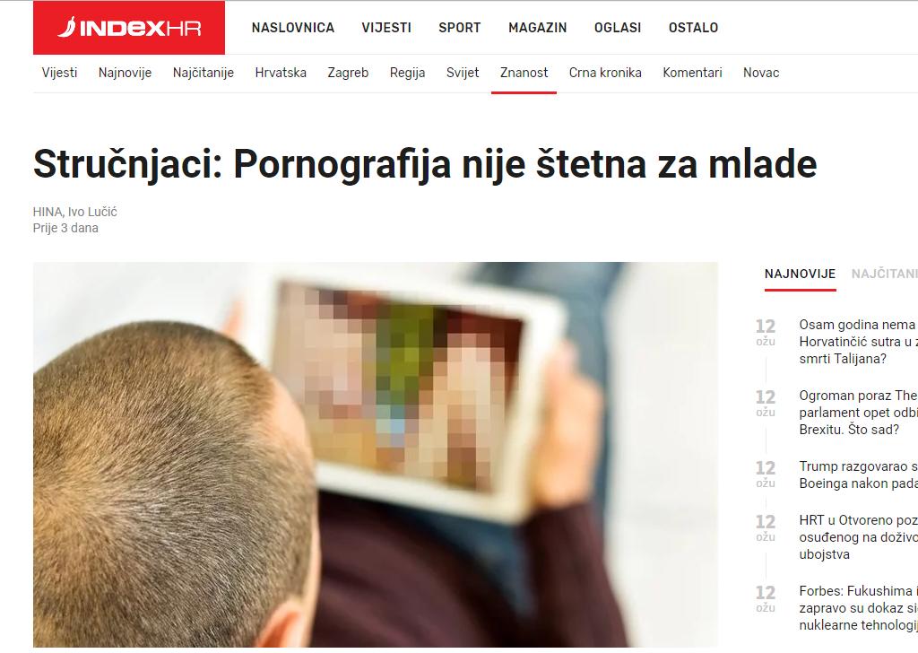 Crne pornografije za odrasle