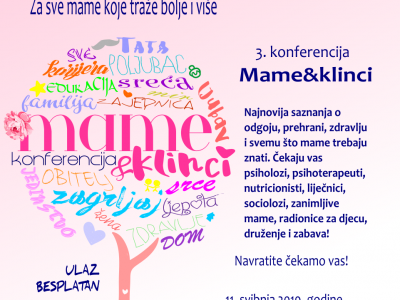 """NAJAVA: Panel """"Znanost i umjetnost odgoja"""" na konferenciji Mame&Klinci"""