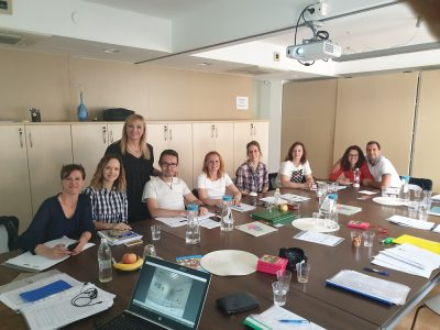 Education on Sexually Abused Children for Association of Centers for Social Work in Slovenia