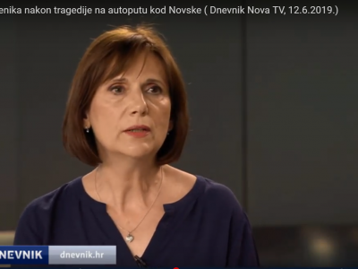 NOVA TV: Team for Psychological Crisis Is Helping Traumatized Children after Accident