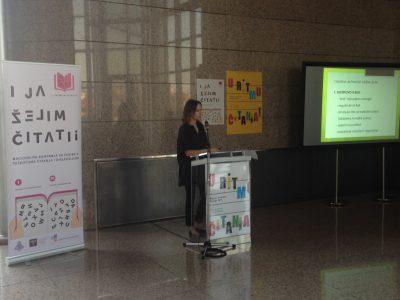 Promicanje čitanja u sklopu Mjeseca hrvatske knjige