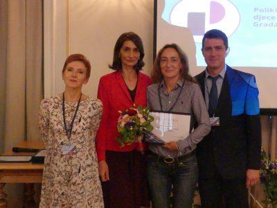 Poliklinici dodijeljena zahvalnica Hrvatske psihološke komore