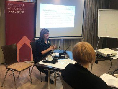 PROMISE 2: Psihologinja Poliklinike održala  u Mađarskoj edukaciju o tretmanu traumatizirane djece i mladih