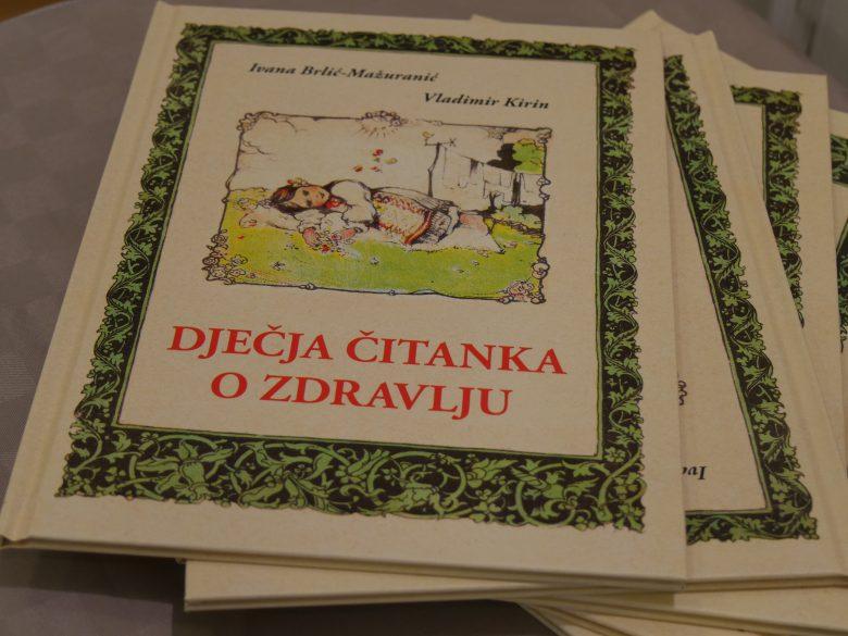"""Na promociji novog izdanja """"Dječje čitanke o zdravlju"""" Ivane Brlić Mažuranić i Vladimira Kirina iz 1927. godine"""