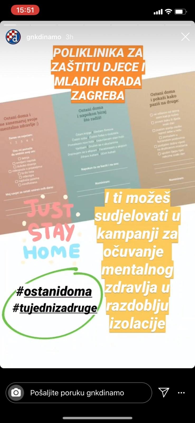 """CAMPAIGN """"SHARE, SUPPORT, HOLD OUT"""": """"I stay home because of my mother who has asthma and because of my grandmother …"""""""