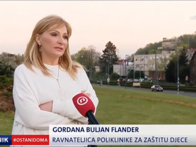 """Nova TV: """"Buljan Flander: """"Nalazi djece iz psihijatrijske dječje bolnice na koronavirus su negativni"""""""