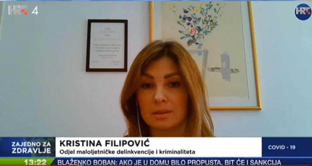 Kristina Filipović, kampanja Iza vrata