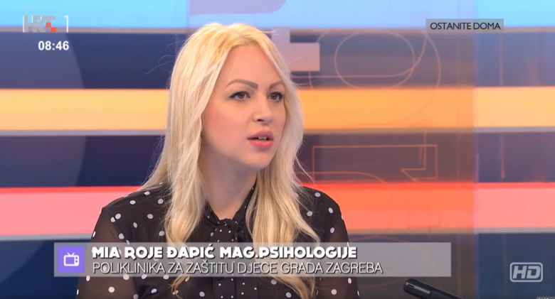 """Croatian Radiotelevision: """"How to Take Care of the Mental Health of Children in the Age of Coronavirus"""""""