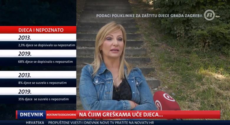 """Nova TV: """"O vrebanju i seksualnom iskorištavanju djece na internetu – #NemojPostatiLovina"""""""